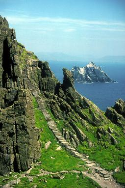 'Stairway to Heaven' on Skellig Michael, Co. Kerry
